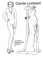 Раскраска – Модница