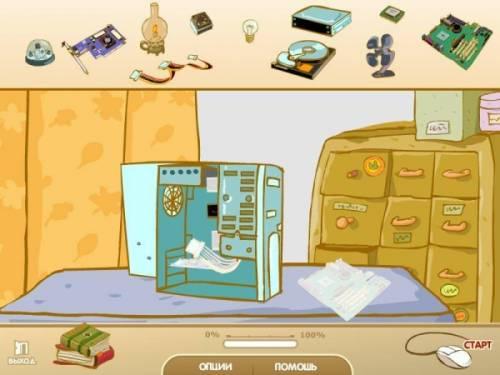 каприке: компьютер ежика играть онлайн