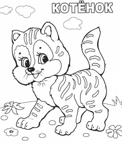 Бесплатная раскраска для детей