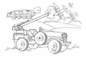 Военная техника - Раскраски мальчикам - Раскраски - НАФАНЯ ...